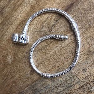 Pandora Snake Chain Bracelet 7.4 inches
